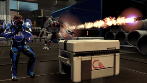 Citadel Garrus Loyalty Fight 2