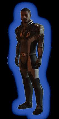ME2 Jacob Basic Outfit
