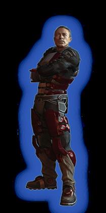 ME2 Zaeed Loyal Outfit