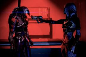 Legion and Tali
