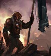 War Chieftan Flag Halo Wars