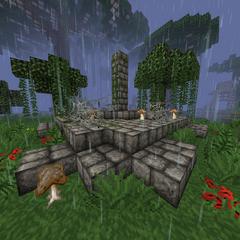 Jungle altar