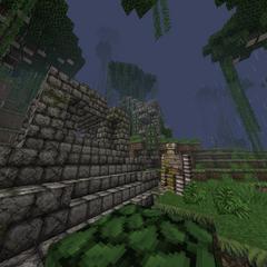 A jungle temple