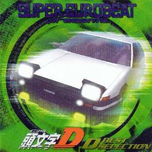 Inital D D Best Selection - Super Eurobeat Presents