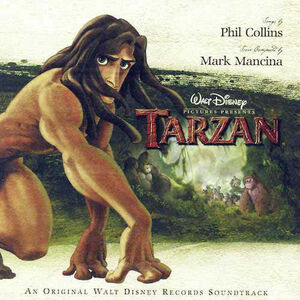 Tarzan An Original Walt Disney Records Soundtrack - Phil Collins
