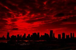 Red-sky-paint-the-town-red