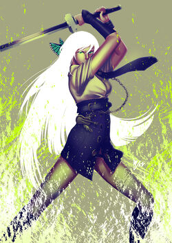 Freya green fire by shiroineko sama-d4fx8z9