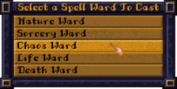 Screenshot SpellWard