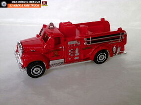 63 Mack B Fire Truck 2014