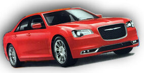 Chrysler 300 (2016 1-125 Cast)