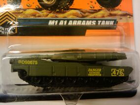Abrams Main Battle Tank flat green