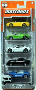 Exotic Riders (2013 5 Pack)