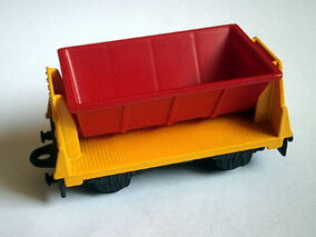 Flat Car Side Tipper TP-125