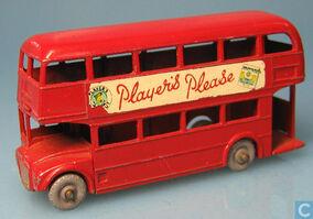 London bus 5c 1957