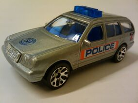 50th Mercedes-Benz E420 Police