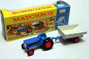 Fordson Tractor & Whitlock Trailer (1963-69K-11)