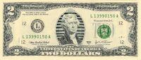2 USD a