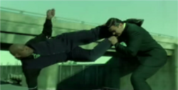 The Freeway Chase Morpheus Fight 2