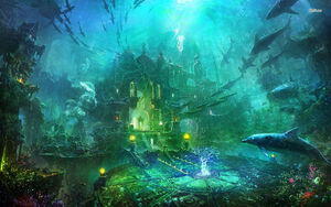 13058-underwater-castle-1680x1050-fantasy-wallpaper