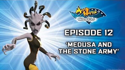 Hatter TV Episode 12 – Medusa and the Stone Army