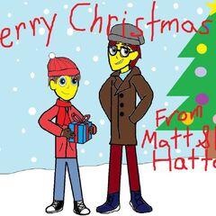 Merry Christmas From Matt and Lio (Captain Lightning) Hatter!