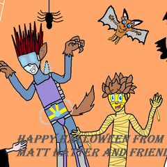 Happy Halloween from Matt Hatter and Friends