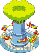Tapped Out Radioactive Man the Ride