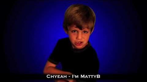 "7 Year Old Raps ""I'm MattyB"" (Original)"