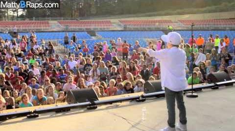 MattyB's GirlaPalooza Performance and Vlog!