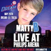 MattyB Live at Philips Arena