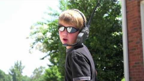 """7 Year Old Rapper """"Secret Agent"""" Original"""