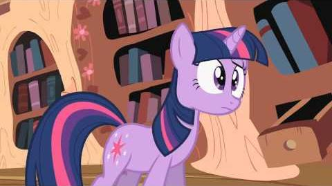 MLP fim Twilight Writes a Fanfic