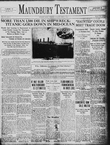 MaundburyTest Titanic
