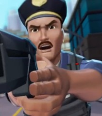 Max Steel Reboot Police Officer