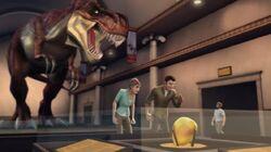 Max Steel Reboot Tyrannosaurus Rex Exhibit
