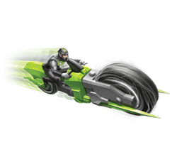 Cyclo-spin-bike-vehicle