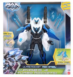 Ultra Rocket Max Steel