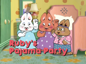 2003 - Ruby's Pajama Party