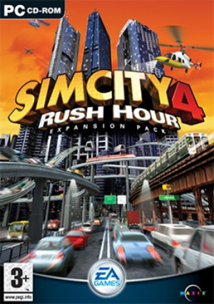 File:1049642-simcity 4 rush hour coverart large.png