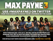 Max Payne 3 Twitter Contest
