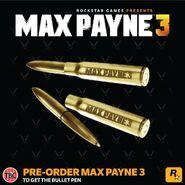Max Payne 3 Bullet Pen
