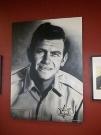 Mayberry Days - Andy's Portrait at the AG Playhouse