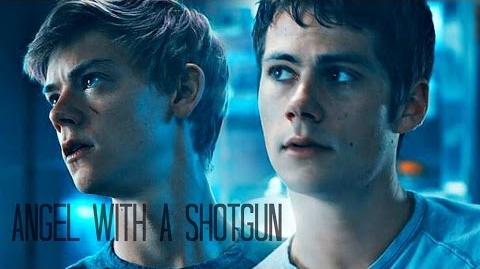 Newt & Thomas the Scorch Trials - Angel with a Shotgun-0