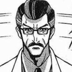 Sayaka's father (i can never remember his name)