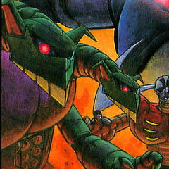 Doublas M2 from the cover of the first Ota Manga.