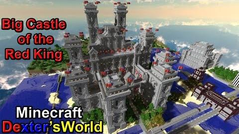 Minecraft Big Castle of the Red King