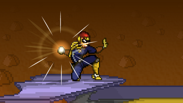 Falcon Punch Charge
