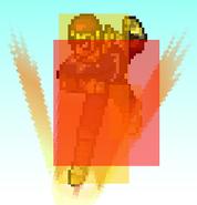 Captain Falcon (Falcon Kick Hitbox)