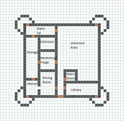 Minecraft Castle Blueprint
