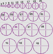 Basic circular tower layouts